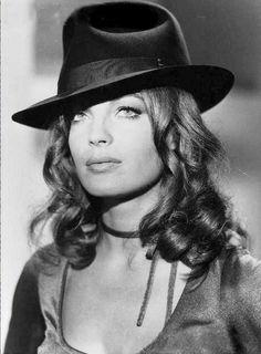 """Portrait of Romy Schneider in """"Max et les ferrailleurs"""" directed by Claude Sautet, 1971."""