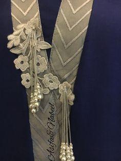 AsifaandNabeel Neckline Designs, Kurti Neck Designs, Dress Neck Designs, Blouse Designs, Zardozi Embroidery, Silk Ribbon Embroidery, Hand Embroidery, Embroidery Designs, Kurta Style