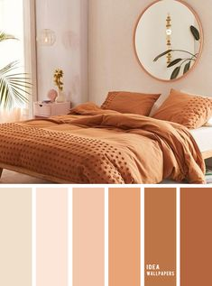 10 Best Color Schemes for Your Bedroom Terracotta Earthy Tones ear. - 10 Best Color Schemes for Your Bedroom Terracotta Earthy Tones ear… awesome pretty wallpapers # - Bedroom Colour Palette, Bedroom Paint Colors, Bedroom Color Schemes, Warm Bedroom Colors, Earthy Bedroom, Peach Bedroom, Apartment Color Schemes, Room Color Ideas Bedroom, Colors For Bedrooms