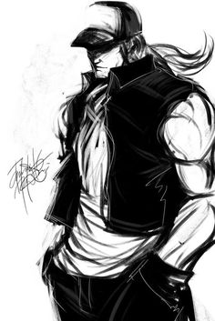 Terry Bogard King Of Fighters (Southtown Hero by DarroldHansen.deviantart.com on @deviantART)