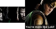 You're more like Loki! | Are you Thor or Loki?