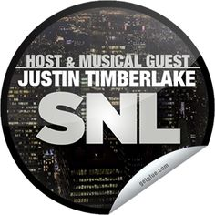Saturday Night Live: Justin Timberlake Sticker | GetGlue