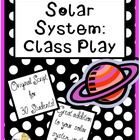 This 8 page Solar System Play by The Teacher Next Door is one I wrote for my class as an end of the year performance for parents and students. It's...