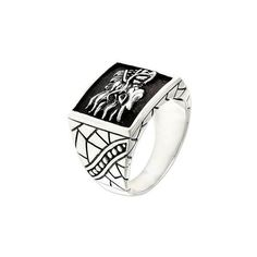NOVICA Men's Silver Dragon Ring ($73) ❤ liked on Polyvore featuring men's fashion, men's jewelry, men's rings, clothing & accessories, jewelry, rings, signet, sterling silver, mens silver signet rings and mens silver rings