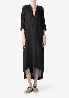 Three-Quarter-Sleeve Dress    Steven Alan