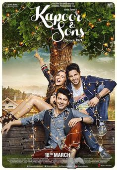 The Kapoor bros and the girl next door #KapoorAndSons @aliaa08 @_fawadakhan_  #KNStrailerFeb10