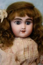 13 Inch SFBJ Keywind French Bisque Mechanical Walking Doll Marked SFBJ Works!