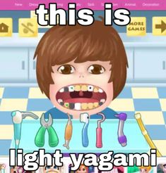 Fb Memes, Funny Memes, Reaction Pictures, Funny Pictures, Death Note Funny, L Lawliet, Light Yagami, Funny Anime Pics, Cry For Help