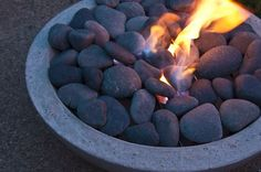 How to: Make a DIY Modern Concrete Fire Pit from Scratch