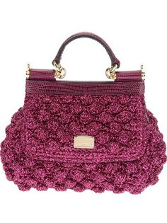 DOLCE and GABBANA 'Sicily' Tote