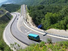 #Misiryeong Penetrating Road, Gangwon Province, Korea - Emergency Escape Ramp | #미시령관통도로 #긴급제동시설