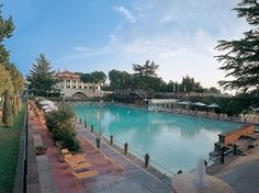 Terme dei Papi SPA - Viterbo -  Monumental thermal pool and beauty treatments for a fee ...