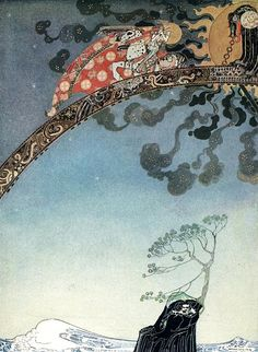 bell-woodhope: Kay Nielsen illustration for East of the Sun and West of the Moon. Old Tales from the North