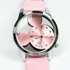 Relógio Feminino Mickey — Carro de Bolso
