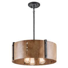 Real wood and wood look lighting can have both an industrial feel or add transitional elements.