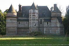 le manoir d'Auffay, XVe-XVIe siècle, Oherville, Seine-Maritime, Normandie,