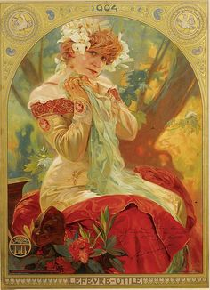 Alphonse Mucha - Lefèvre-Utile | Flickr - Photo Sharing!