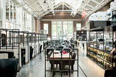 My 5 new favorite places in Amsterdam - de Foodhallen, an indoor street food market