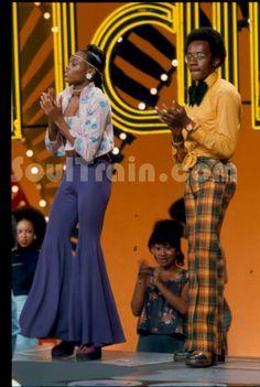 70's groovy fashin on Soul Train