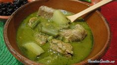 Mole de olla verde #RecetasMexicanas #ComidaMexicana #CocinaMexicana