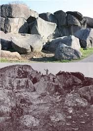 Image result for pictures of gettysburg then