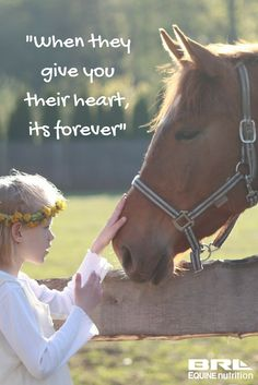 """When they give you their heart, its forever"" #BRLequine #loveyourhorse #horseheart"