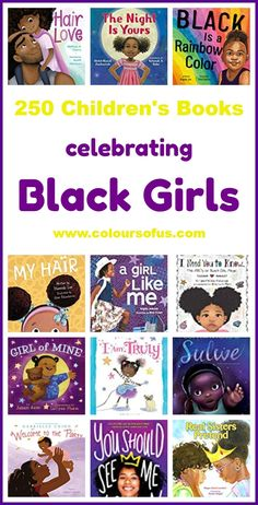 Children's Books Celebrating Black Girls