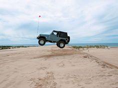 Silver Lake sand dunes, Michigan