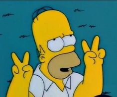 Find images and videos about grunge, peace and the simpsons on We Heart It - the app to get lost in what you love. Cartoon Memes, Cartoon Icons, Funny Memes, Funny Comebacks, Meme Meme, Simpson Wallpaper Iphone, Cartoon Wallpaper, 365 Kawaii, Simpsons Art