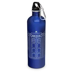 Doctor Who Tardis Water Bottle. $US15.99. thinkgeek.com suggested by Mimbles - The Kids Are All Right Forum member.
