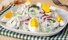 Nagyon jó kis recept, tetszeni fog! :) Próbáld ki, hidd el, érdemes! Én már bezsebeltem érte a dicséreteket!! :D Hozzávalók: 1 kígyóuborka 6 retek 1,5[...] Vegetarian Recipes, Cooking Recipes, Healthy Recipes, Cold Dishes, Hungarian Recipes, Cucumber Salad, No Cook Meals, Summer Recipes, Salad Recipes