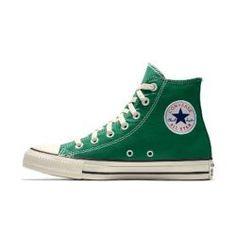 Mode Converse, Brown Converse, Green Converse High Tops, Pastel Converse, Cute Converse Shoes, Converse Hightops, Colored Converse, High Top Converse Outfits, Nike High Tops