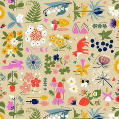 Edith's Garden, Ceri's Fabric8 entry