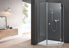 Elegancka kabina Metropolis dedykowana przestronnym strefom prysznicowym. Minimalizm, wysokiej jakości proste profile i uchwyty dekorują taflę szlachetnego szkła.