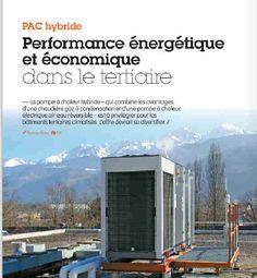 Performance énergétique et économique dans le tertiaire avec la PAC hyvbride