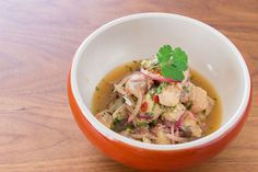 This Lemongrass Ceviche is ALL the noms.