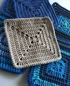 Solid Granny Square for Beginners ༺✿ƬⱤღ✿༻