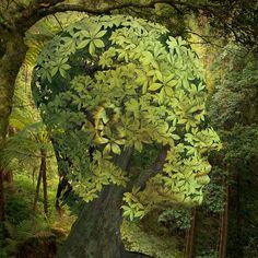 Wir sind die Umwelt: Wir können sie entweder bewahren oder zerstören… Wir haben die Macht dazu. Die Schattenseite unserer Gesellschaft: Kontroverse Illustrationen von Igor Morski