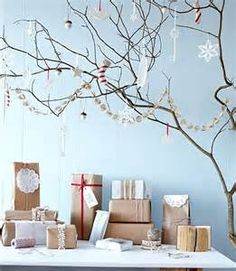 decorating with tree branches - - Yahoo Image Search Results