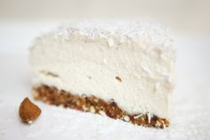 Raw Banana Coconut Cashew Cake- the actual recipe