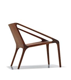 Loft - Wooden easy chair - Design: Shelly Shelly for Nurus