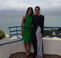 Freida Pinto & Sonam Kapoor