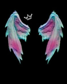 Luckily I have wings to fly Wings Wallpaper, Glitch Wallpaper, Angel Wallpaper, Emoji Wallpaper, Dark Wallpaper, Wallpaper Iphone Cute, Wallpaper Backgrounds, Angel Wings Drawing, Angel Wings Art