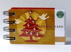 great idea for a holiday starbucks mini album.
