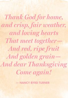 12 Things to Say for Thanksgiving Grace