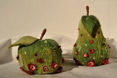 Текстильные фрукты. Как легко сделать выкройку.   Страна Мастеров