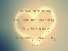 James Morrison. Something