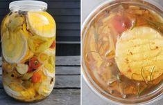 Domáci čučoriedkový koláč - Receptik.sk Pickles, Cucumber, Food, Cilantro, Essen, Meals, Pickle, Yemek, Zucchini