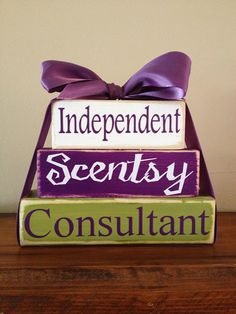 Scentsy consultant party props on Etsy, $22.00