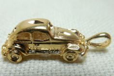 LOT of 10 Large Gold Plated VolksWagen by Beadgarden55 on Etsy, $8.00